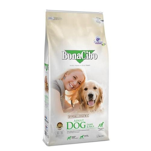 BonaCibo Adult Dog Lamb 15 kg